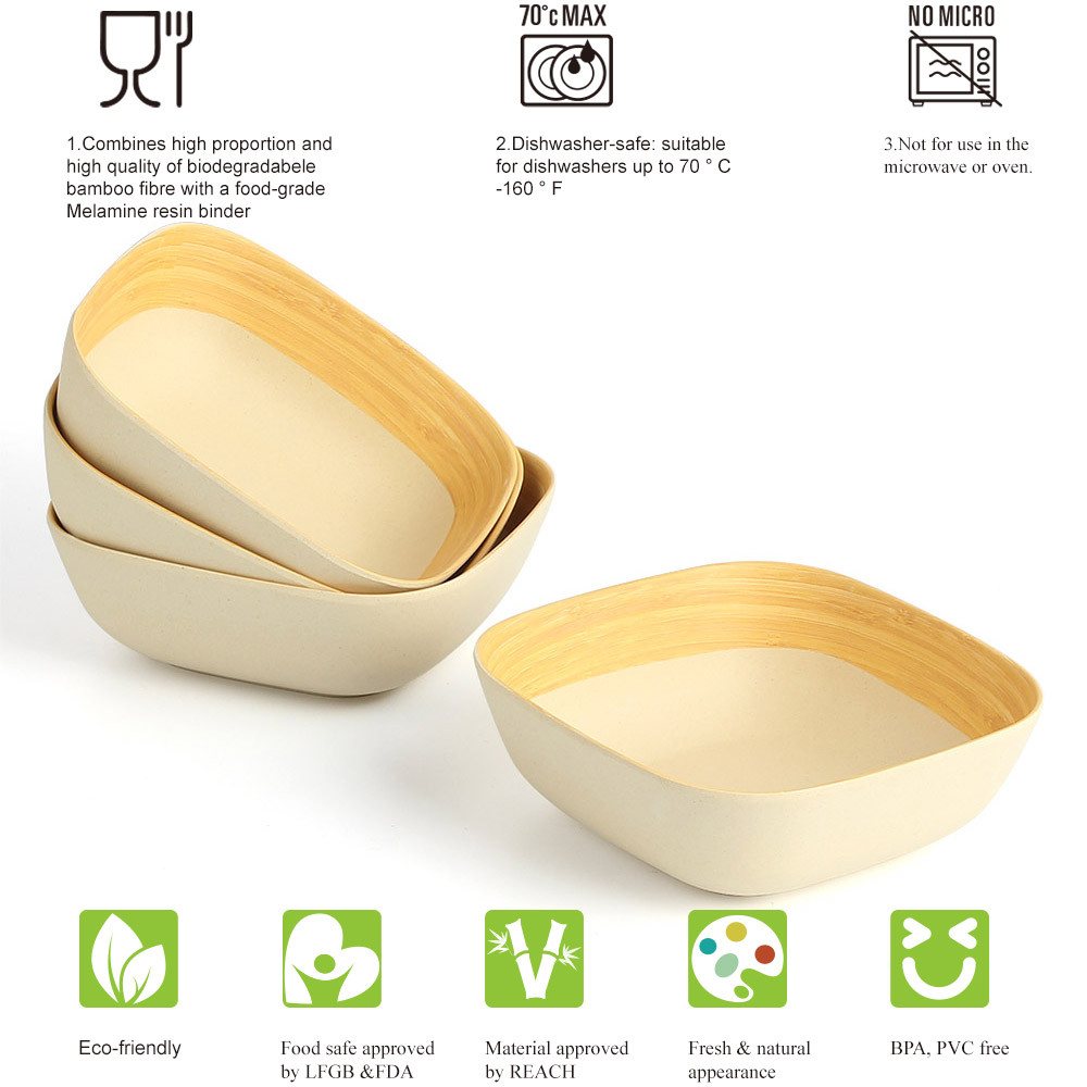 lekoch bamboo tableware
