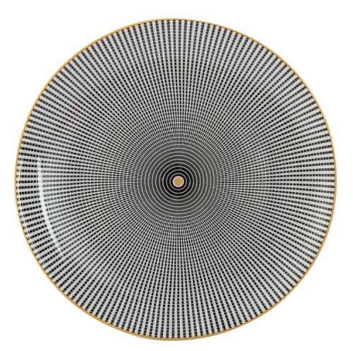 Lekoch Bone China Geometric 10inch Dinner Plates - 26cm