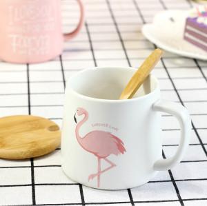 Lekoch White Ceramic Cup Milk Juice Mug Coffee Tea Cups