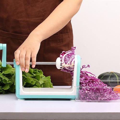Lekoch Vegetable Cutter Round Mandoline Slicer Potato Julienne Carrot Grater Cheese Slicer