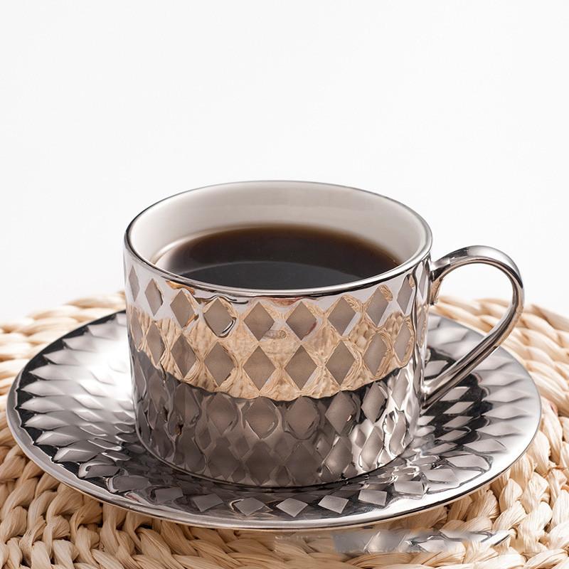 procelain teacup and saucer set