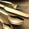 Lekoch Mirror Polish Gold Besteck 4er Set