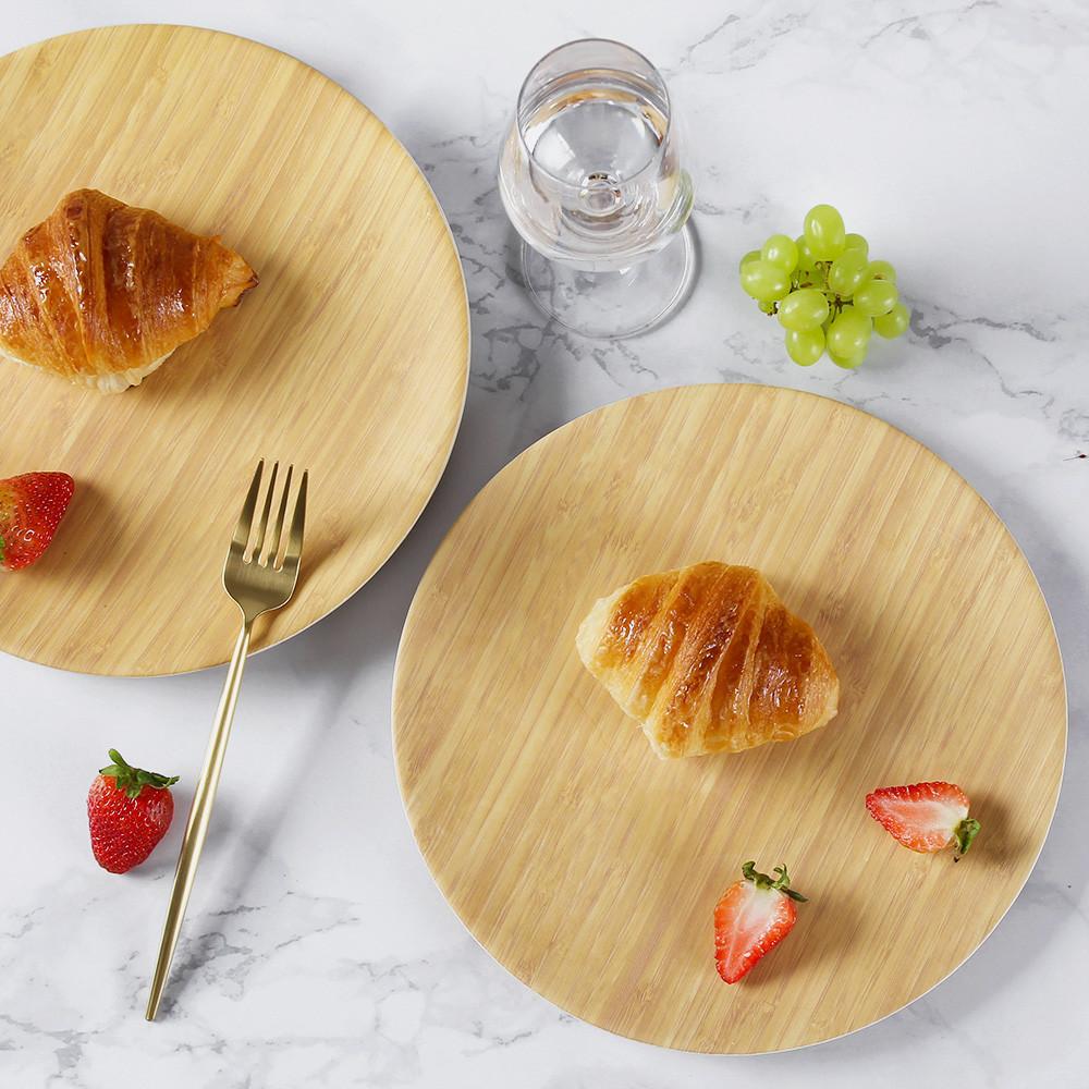 lekoch bamboo dinner plates