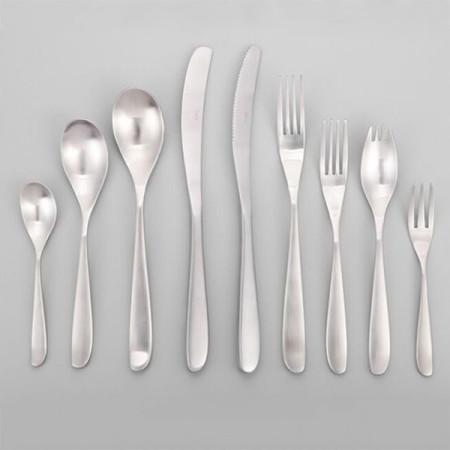 Lekoch Silver Stainless Steel Cutlery Set Wholesale