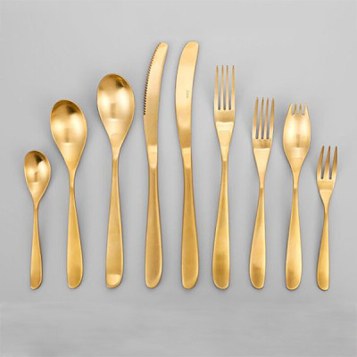 Lekoch Gold Stainless Steel Cutlery Set Wholesale