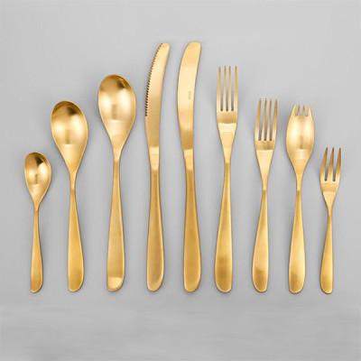 Lekoch Gold Stainless Steel Cutlery Set Wholesale