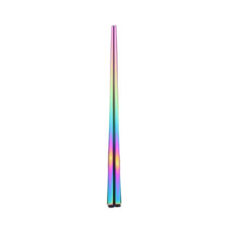 Length 24cm Rainbow Food Grade Top Chopsticks Tableware
