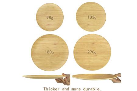 Bamboo fiber tableware VS traditional tableware