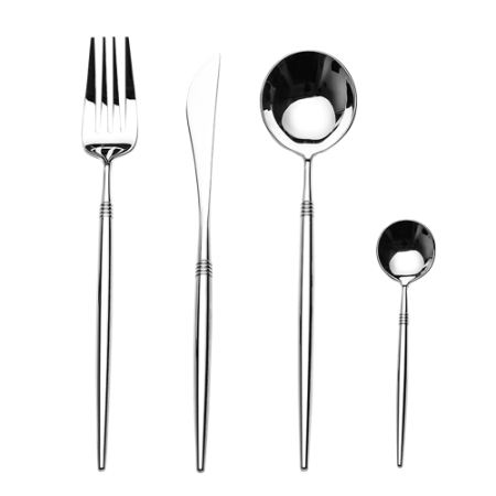 LEKOCH Cutlery   Silverware Set Restaurant Tableware Set