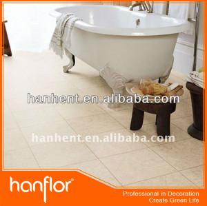 Cuarto de baño de baldosas de vinilo
