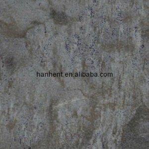 Negro de la tierra diseño de lujo de mármol baldosas de vinilo de piso