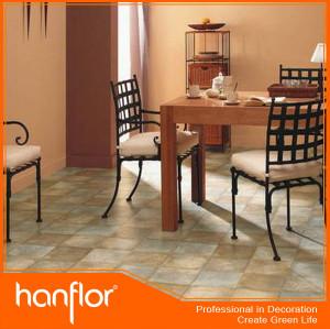 Natural textura de pedra pvc projeto piso de cerâmica