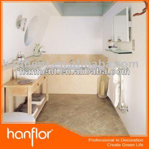 No antideslizante de baño de mármol del azulejo