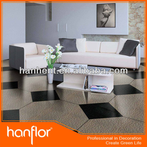 Con estilo de piedra acabado de mármol de vinilo pisos de baldosas
