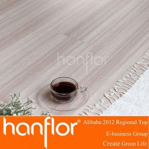 Popular de madera del grano de suelo de PVC