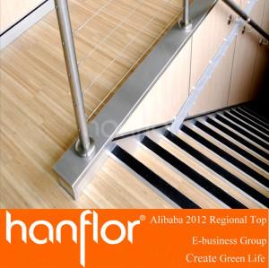 Pvc que teje pisos pisos de vinilo para escaleras