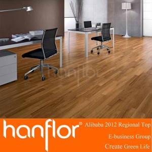 Moderna de lujo del piso de vinilo tablones / plástico de tablones de madera de suelo