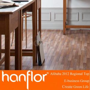 Sonido reducir pisos de vinilo del PVC para madera serie