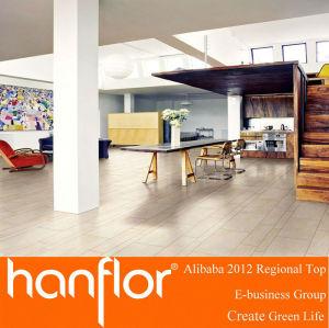 Respetuoso del medio ambiente del piso de madera del pvc azulejo para comercial