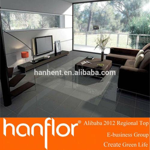 Color suave textura de madera del PVC de mármol azulejo de piso