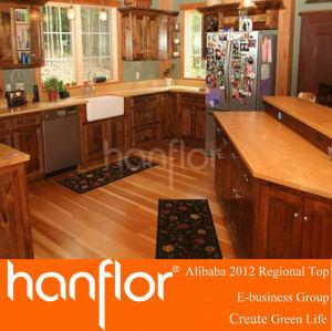 Diseña nuevamente el suelo para decoración de la casa de madera del grano de suelo de pvc