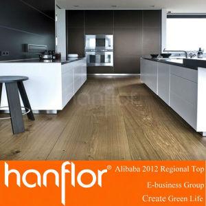 Hermosa textura de madera de colores pisos de vinilo del pvc