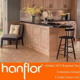 De madera del grano de suelo de PVC suelo de baldosas