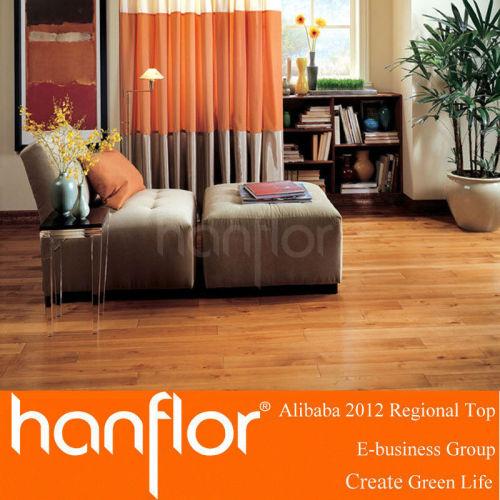 Nuevo diseño de madera patrón de pisos de vinilo del PVC