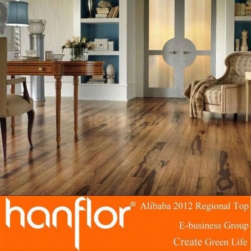 Caliente la venta de madera patrón de pisos de vinilo del PVC