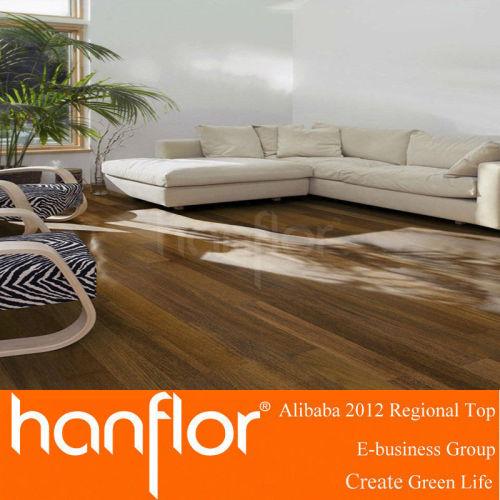 Nuevo tipo de pisos de vinilo del PVC mirada de madera