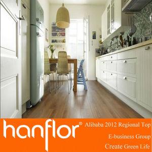 Durable apartamentos de pisos de vinilo tablón