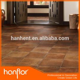 Recubrimiento UV textura de madera PVC azulejos de suelo