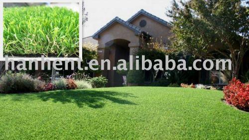 Hanhent gran césped Artificial para jardinería y jardín decoración