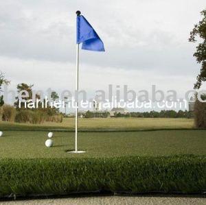 Perfect imitado pelota de golf campo de césped
