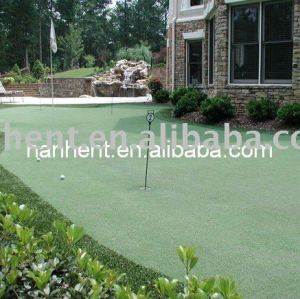 Hogar imitado pelota de golf campo de césped