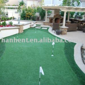 Facticios campo de golf de hierba