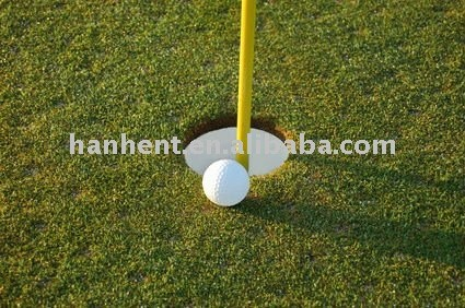 Pelota de golf campo artificial