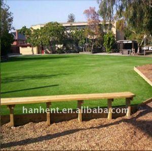 Suave jardín y paisajismo césped artificial