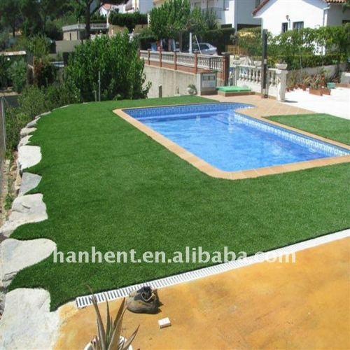 Alta UV - resistencia natación piscina alfombra de césped artificial alfombra