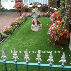 15 mm pila de césped sintético para el hogar y jardín