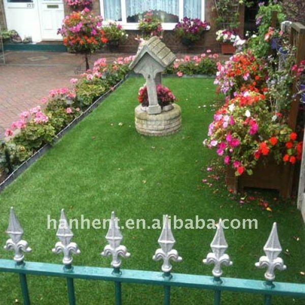 15 мм куча синтетическим газоном для дома и сада
