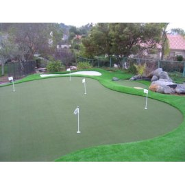 Sintético de entrenamiento de hierba para golf