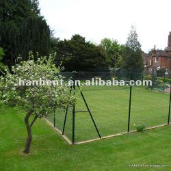 Красивый двор искусственный газон площади