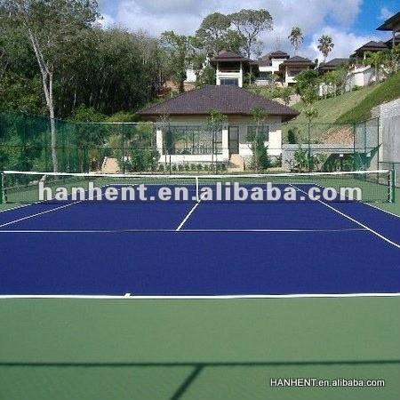 Colorida pelota de tenis deportes de césped Artificial