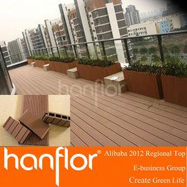 Wpc veranda tabla de cubierta