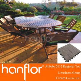 Compara Wood Plastic Composite WPC cubierta pisos