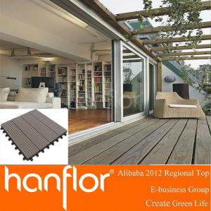 Ventas calientes! 2013 barato y Popular piso Decking del WPC