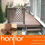 2013 nouvelle version wpc terrasse extérieure avec spice conception
