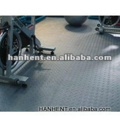 Pvc revêtement de sol carrelage pour garage et exposition