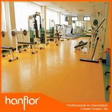 Anti slip fácil para a instalação de borracha de borracha rolo gym pisos